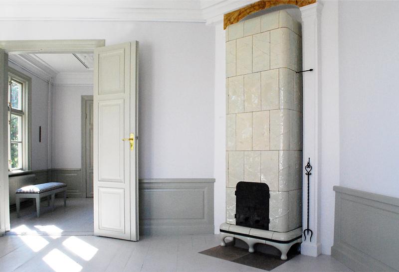 Tiled stove Fullersta