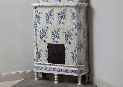 Reconstruction of tiled stove